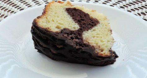 marbré chocolat yaourt part