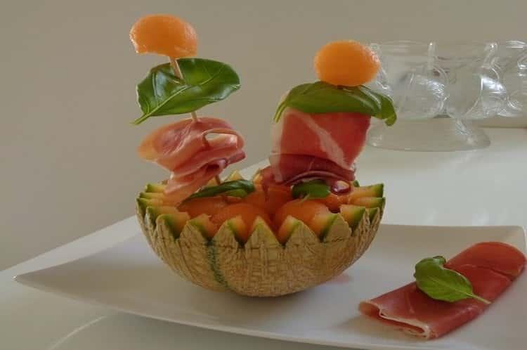 boules de melon au porto