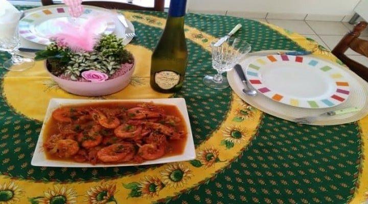 Cari de Gambas recette créole (Réunion) cari de grosses crevettes