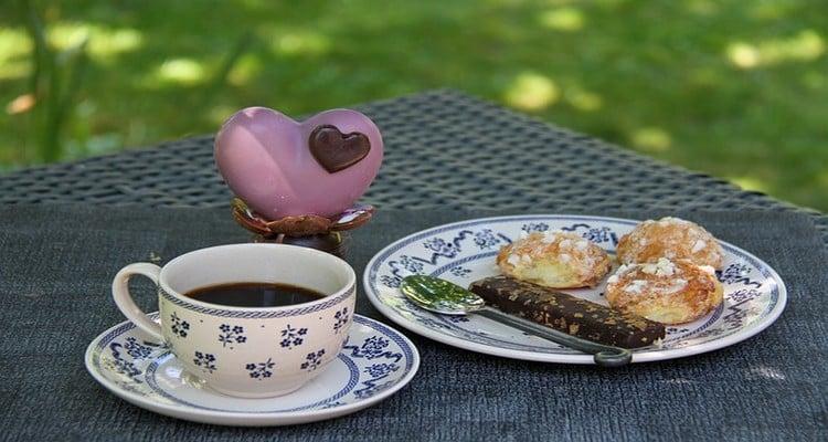 chouquette sucre perlé au café