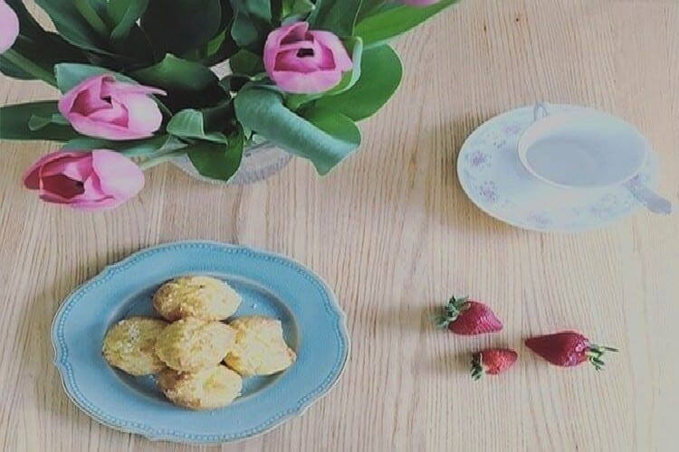 chouquette sucre perlé dessert