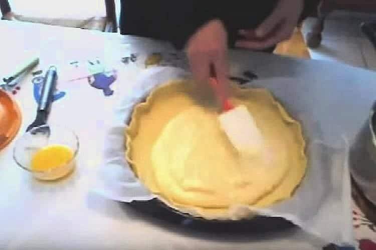 gâteau basque crème