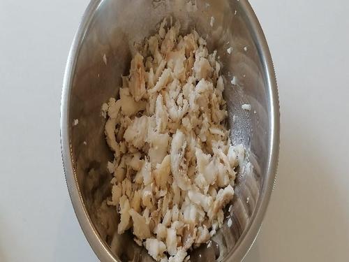 Ingrédient - rougail la morue