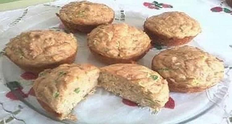 muffins thon ciboulette apéro