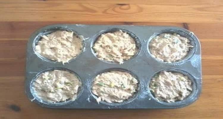 muffins thon ciboulette moule