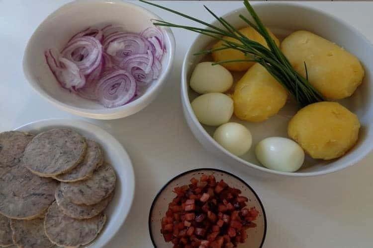 recette salade composée les ingrédients