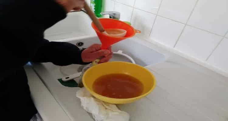 rhum arrangé fruit à pain litre filtrage