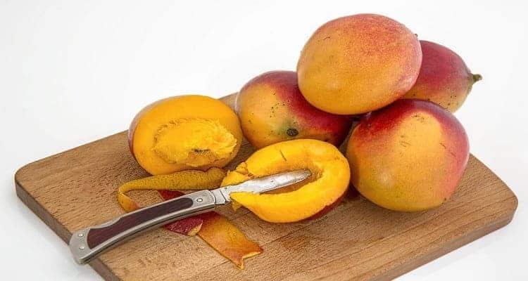 rougail mangues vertes le fruits