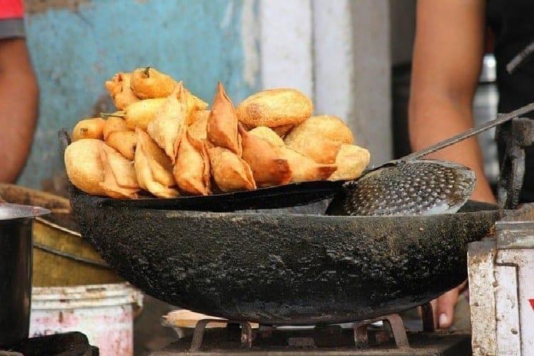 samoussas poulet la cuisson