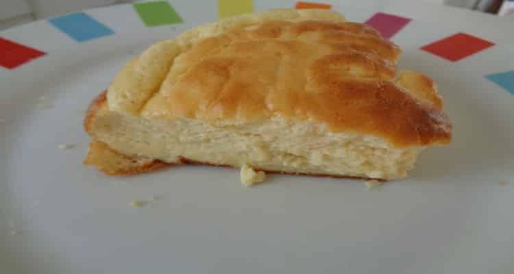 soufflé au fromage part