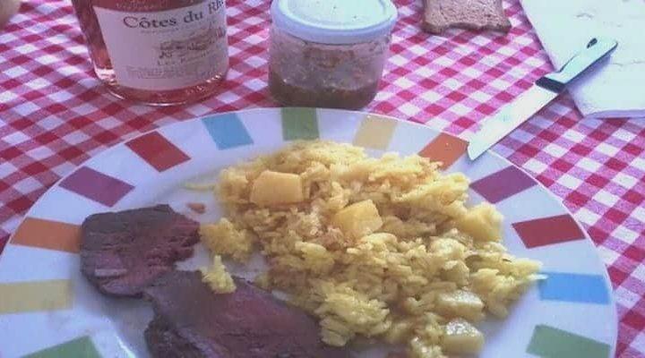 Recette Zambrocal pommes de terre poêlées au safran