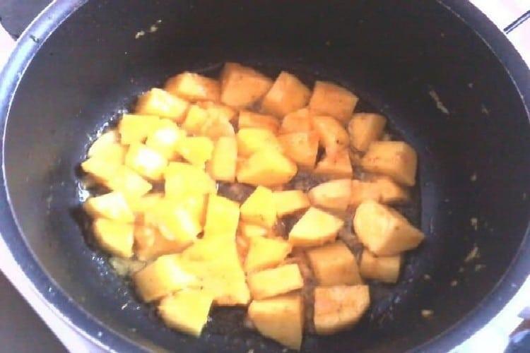 Recette Zambrocal pommes de terre poêlées au safran https://edithetsacuisine.fr/wp-content/uploads/2016/10/zambrocal-1.jpg