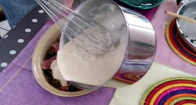 sauce béchamel noix de muscade la préparation
