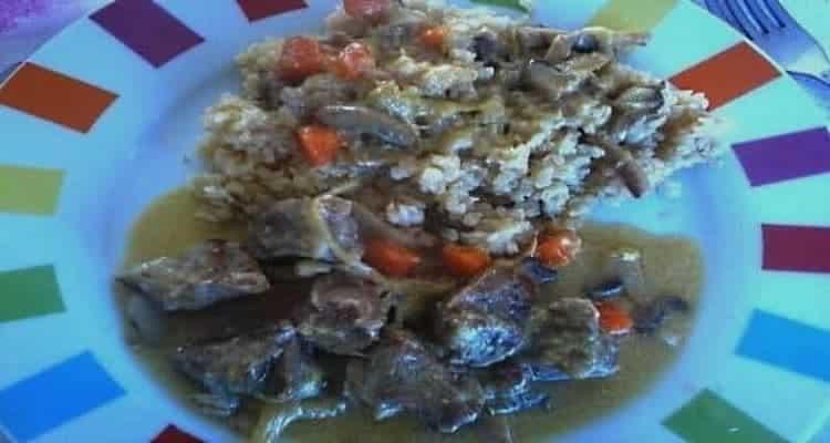 blanquette de veau cuite