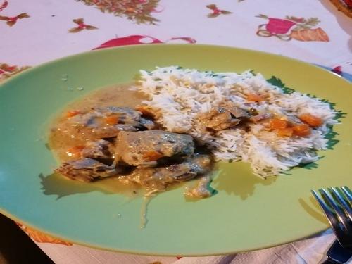 Cuisine européenne - cuisine italienne - blanquette de veau