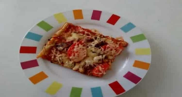comment faire une pizza maison simplement