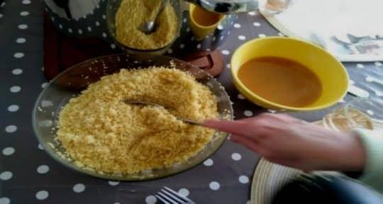 couscous au mouton semoule sauce
