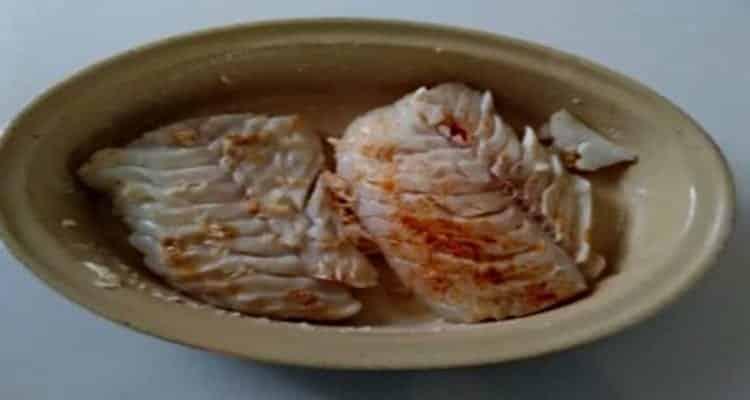 crumble cabillaud plat