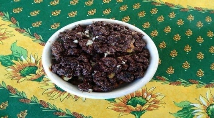 Crumble poire et cacao, comment le préparer ? voici la recette