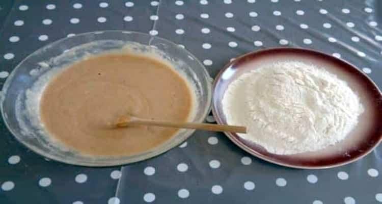 doughnuts sucré à la cannelle pâte