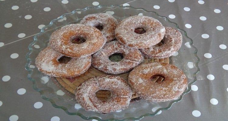 doughnuts sucré à la cannelle