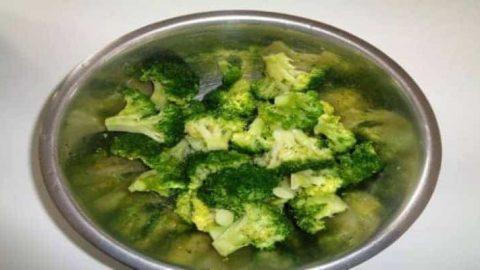 gratin brocoli cuit