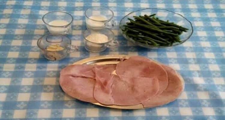 Fagot de jambon roulé préparation