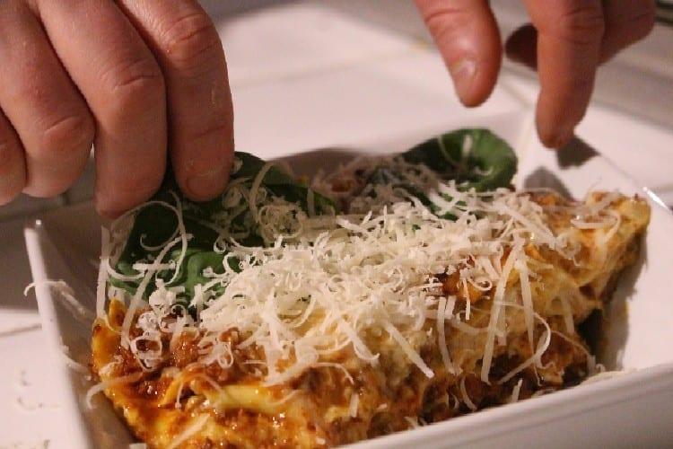 lasagne bolognaise cuite