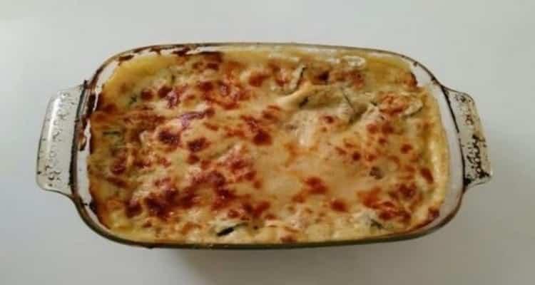 lasagne thon courgette four