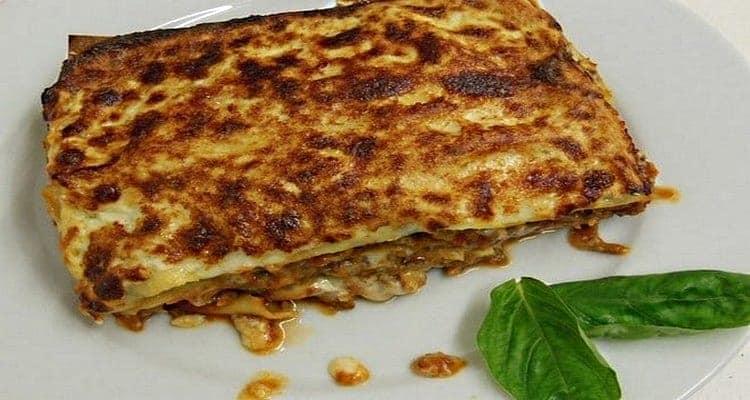 lasagne thon courgette plat