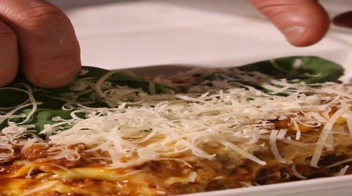 Lasagnes bolognaise – comment les façonner pour 4 personnes