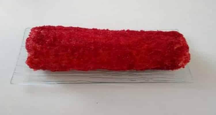 le gâteau chemin de fer rouge