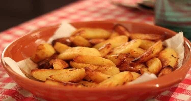 Pomme de terre au four plat