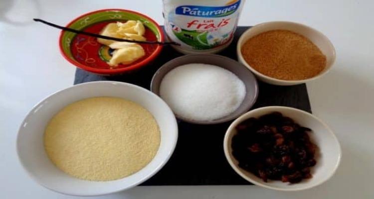 gâteau de semoule fine preparation
