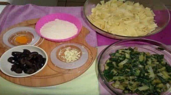 Tagliatelle aux blettes fraîches et parmesan, pâtes aux bettes