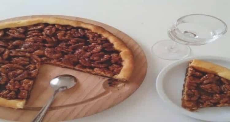 tarte aux noix caramélisées