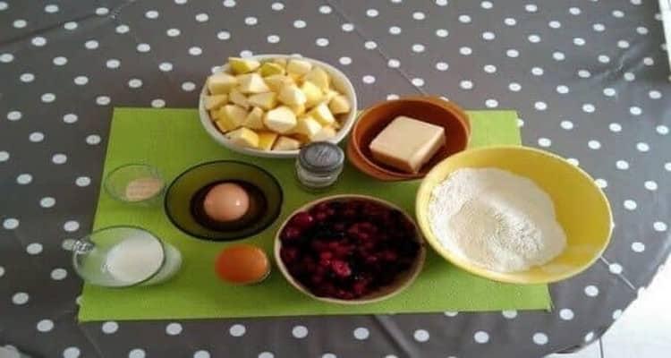 tourte fruit rouge préparation