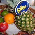 ananas caramélisé corbeille fruit