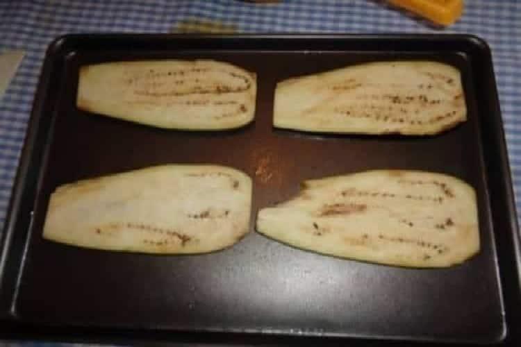 aubergine au four plaque de cuisson