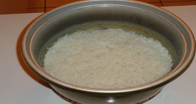 cari queue de langouste et riz