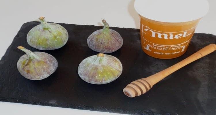 figues fromage de chèvre, la préparation et les ingrédients