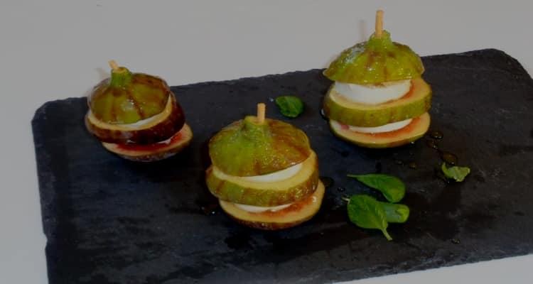 figues fromage de chèvre
