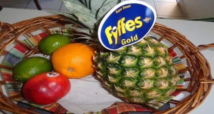 recette ananas caramélisé panier