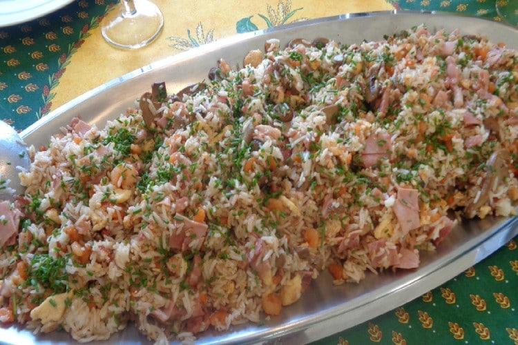 riz cantonnais à la sauce mandose chinoise
