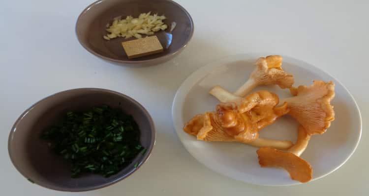 soupe de champignons la préparation