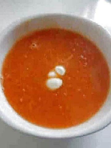 Soupe Ezogelin - Soupe à la tomate