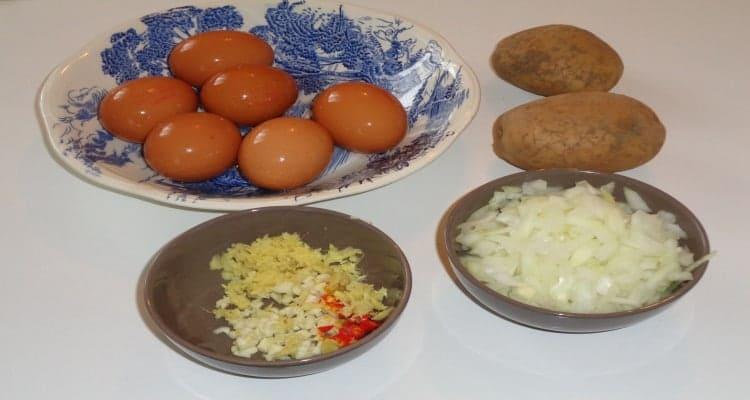 tortilla patates la préparation