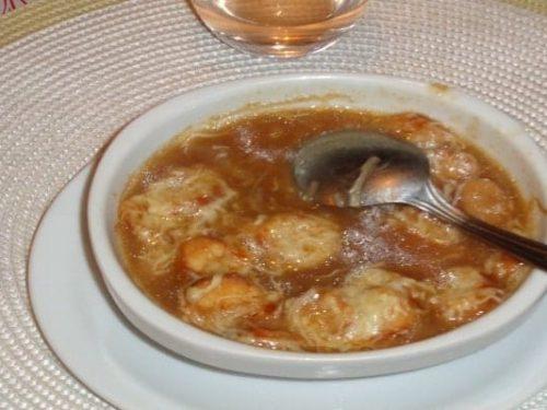 Soupe à l'oignon française - Curry
