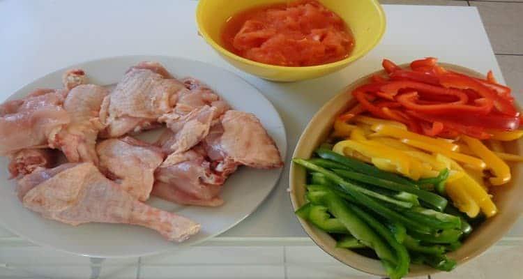 poulet basquaise les ingrédients