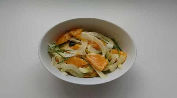 Comment réussir une salade bulbes de fenouil à l'orange…